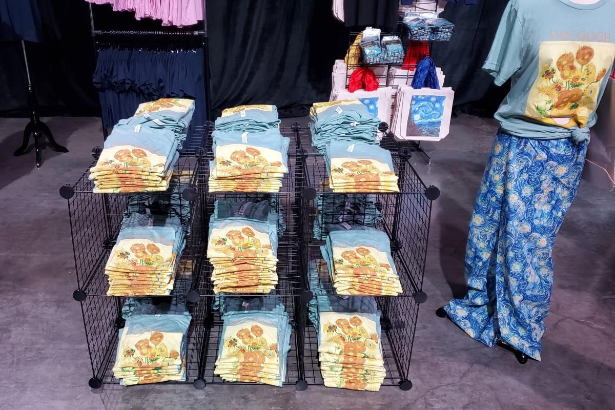 Beyond Van Gogh Gift Shop Credit Katrina Valcourt