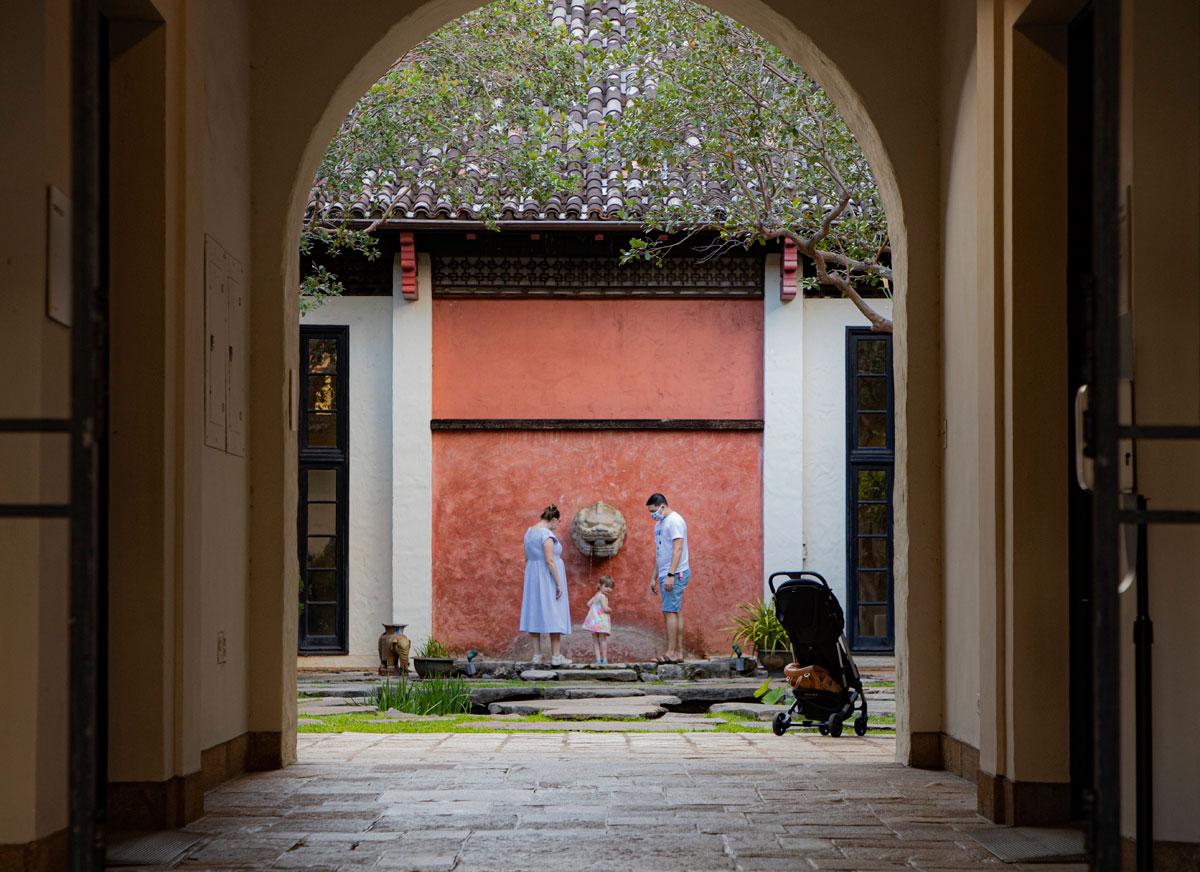 Honolulu Museum Of Art Chinese Courtyard Courtesy Homa