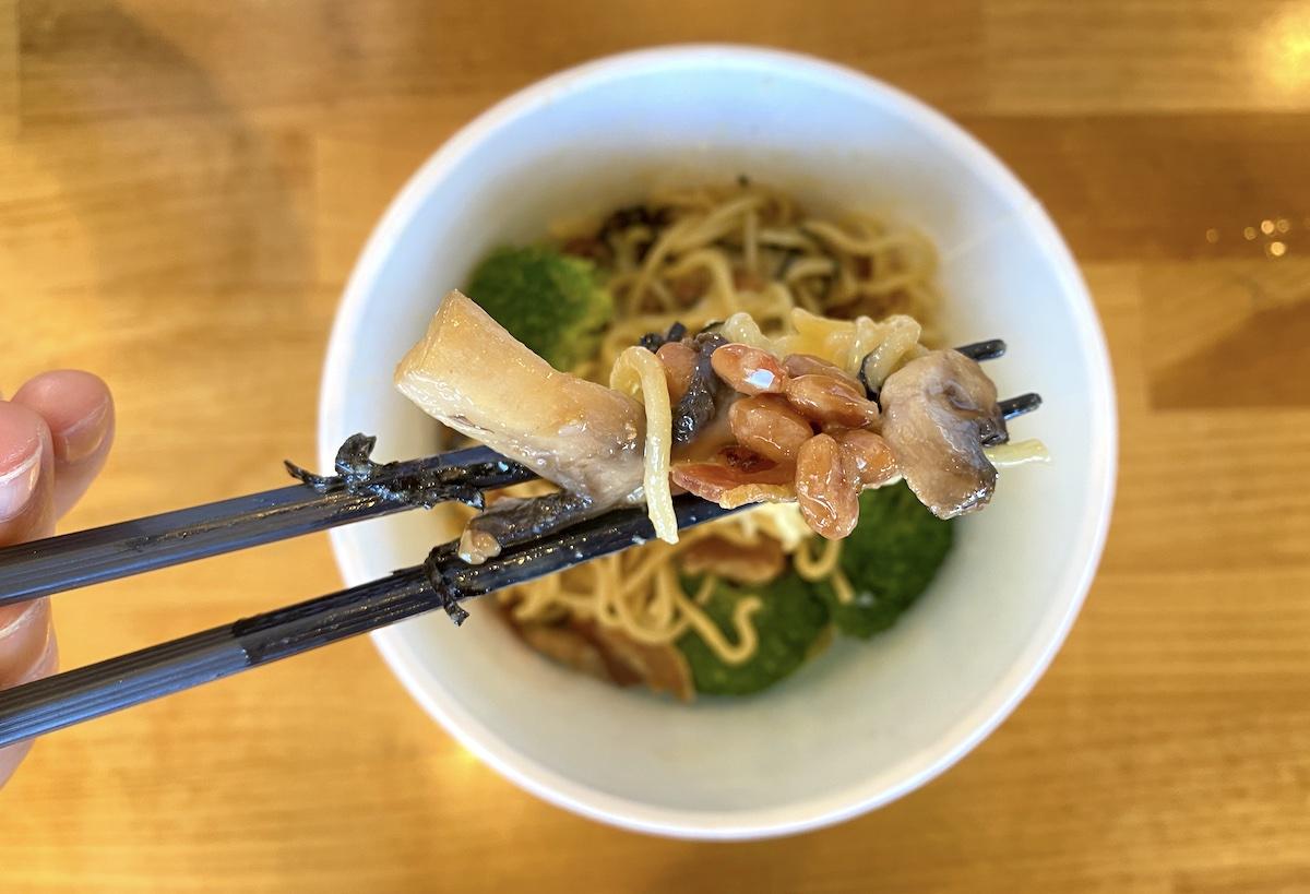 Mio Pastalogy Natto Carbonara Spaghetti Mari Taketa