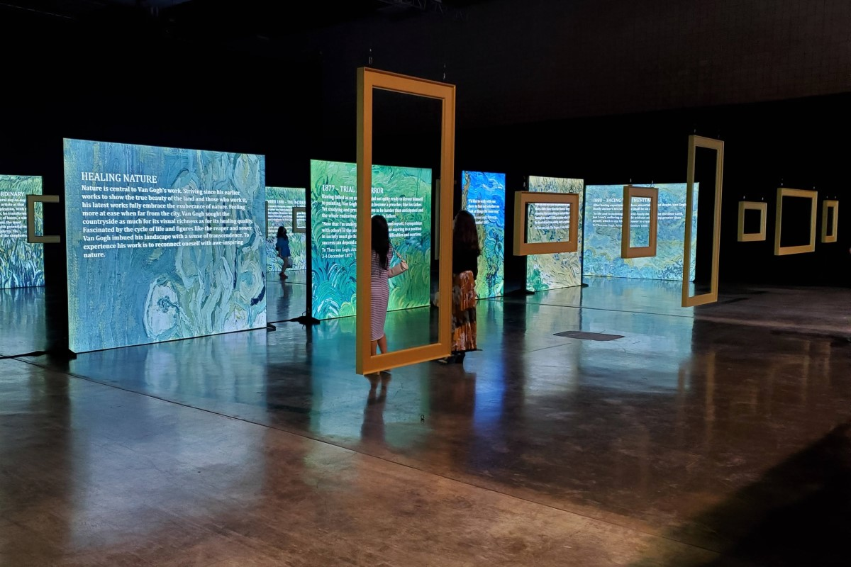 Beyond Van Gogh Frames Credit Katrina Valcourt