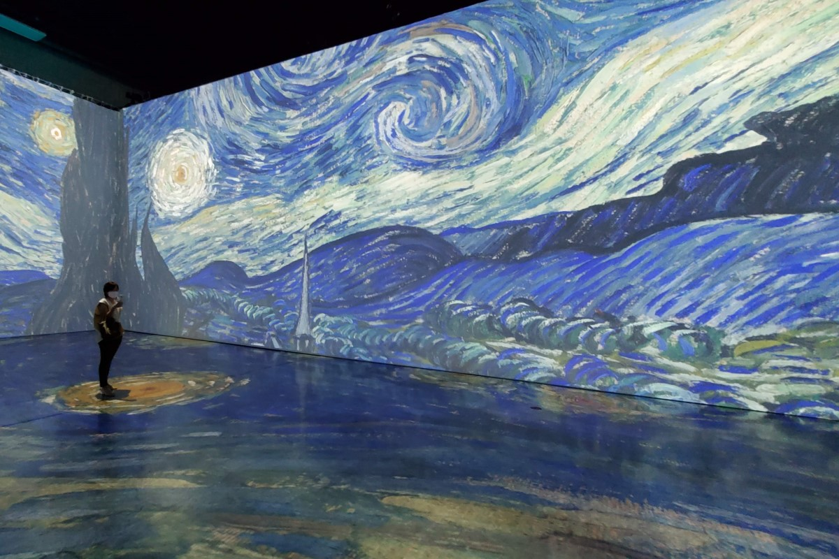 Beyond Van Gogh Solo Credit Katrina Valcourt