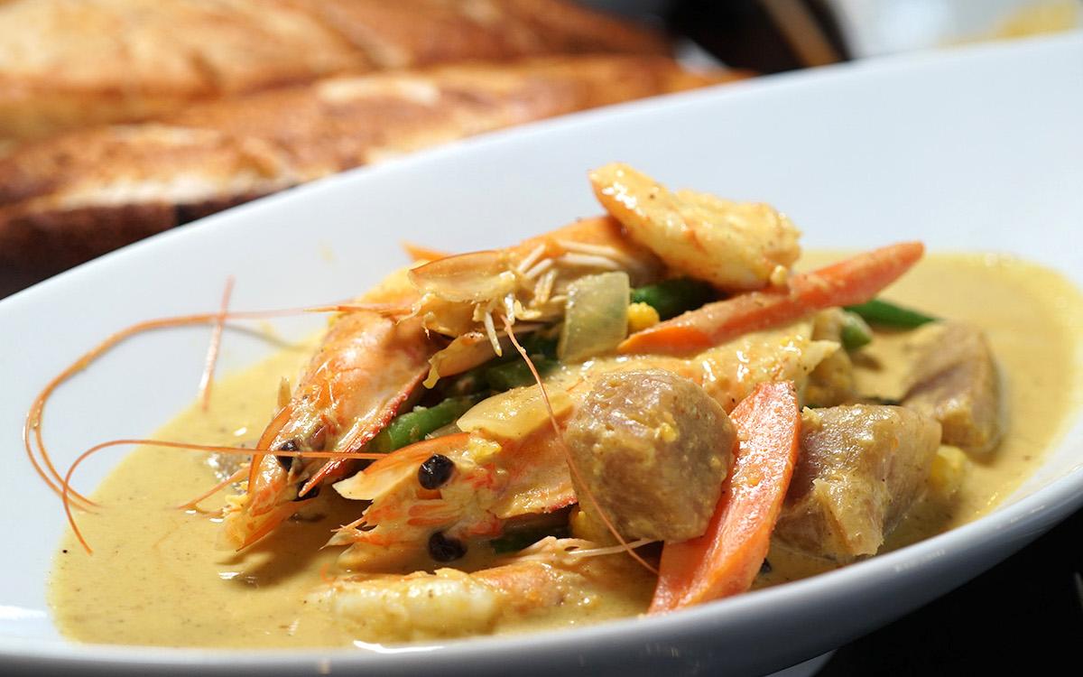 kalo restaurant Shrimp Curry melissa chang