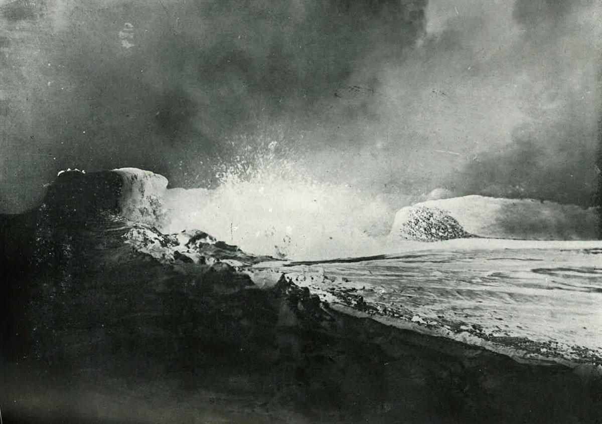 Kilauea Eruption Paradise Of The Pacific July 1921