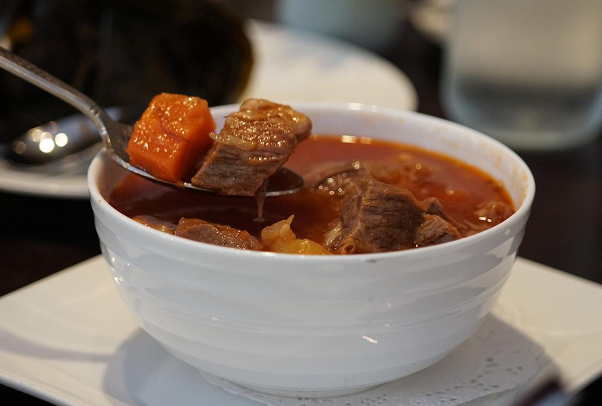 kalo restaurant Beef Stew melissa chang