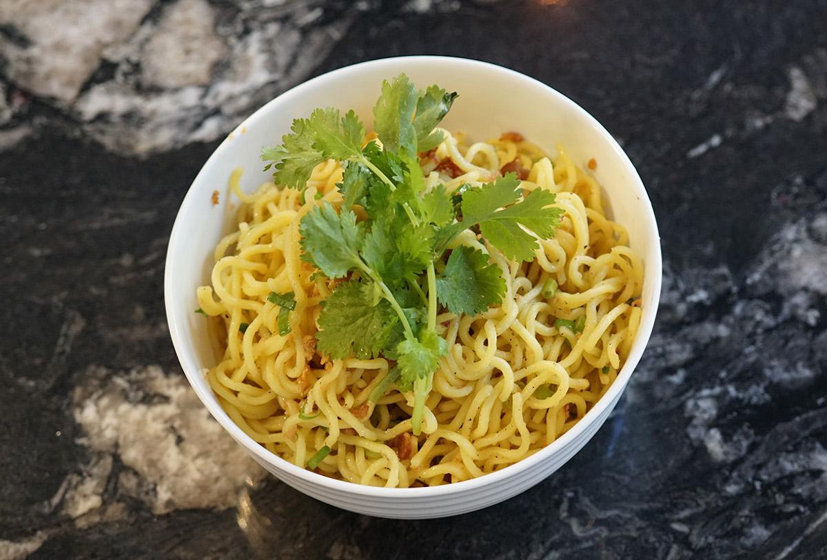 kalo restaurant Garlic Noodles melissa chang
