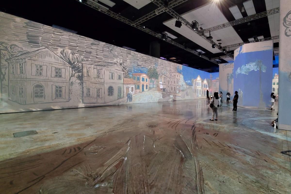 Beyond Van Gogh Exhibit Drawings Credit Katrina Valcourt