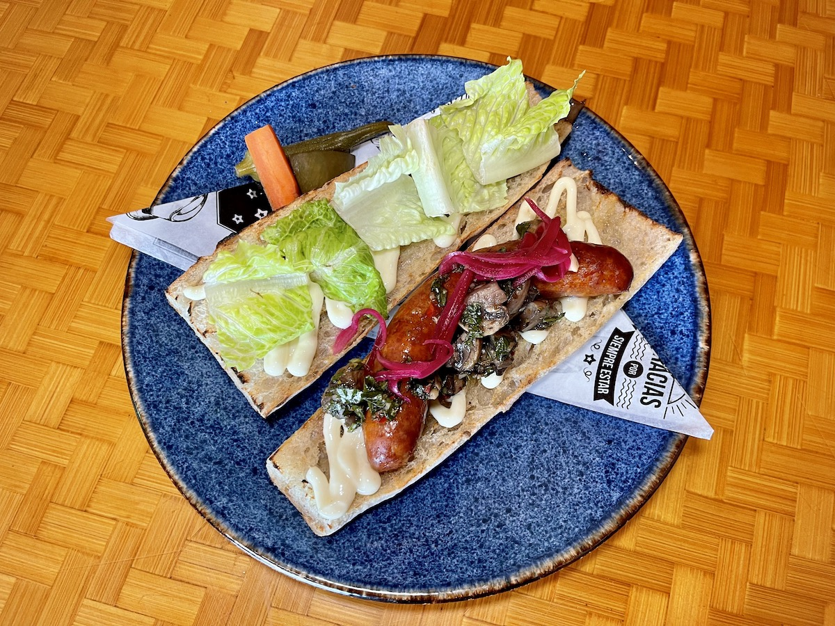 Castros Choripan Sandwich Maria Burke