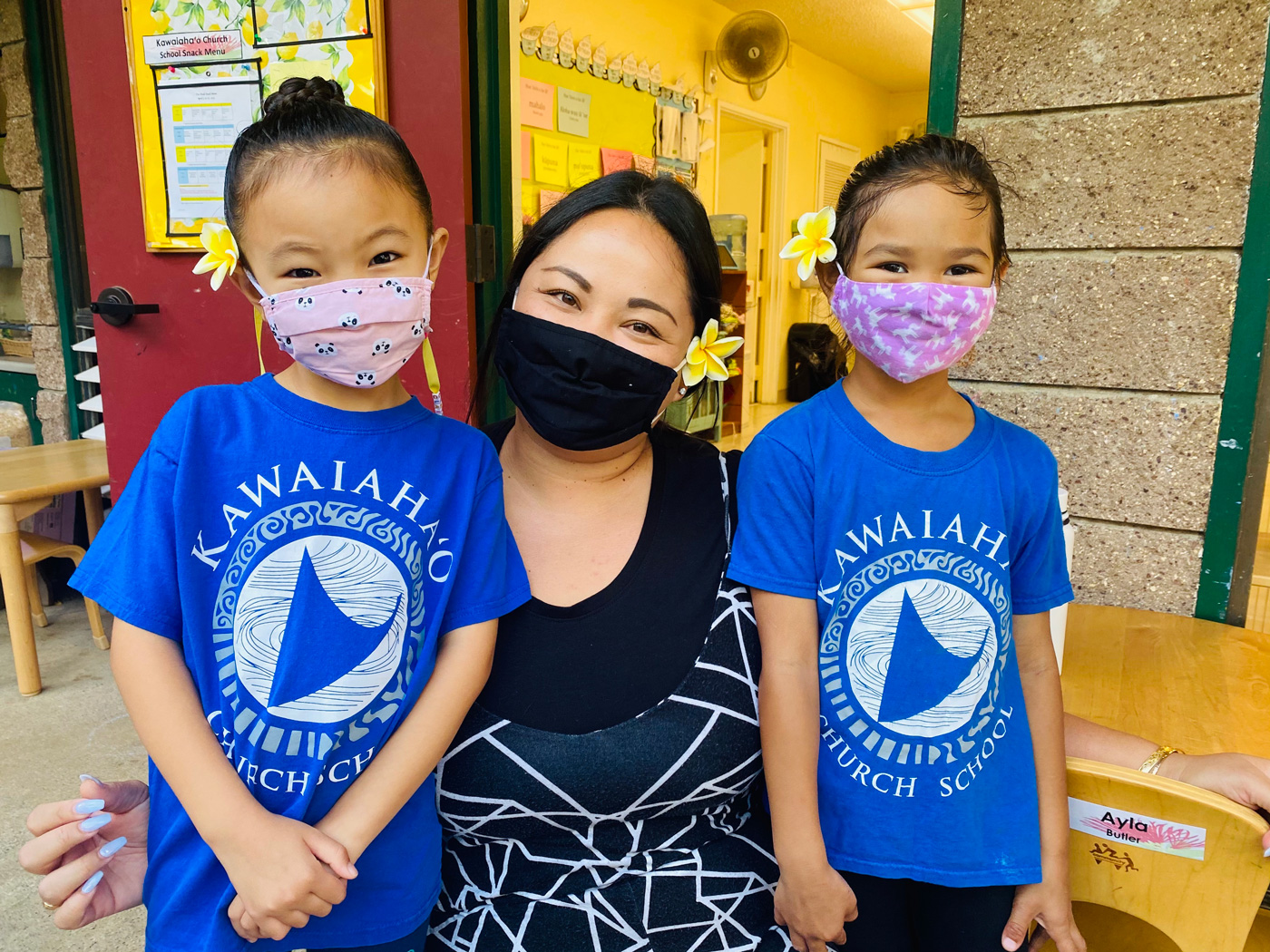 Kawaiahao Church School Girls