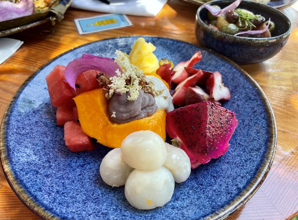 Castros Seasonal Fruit Plate Maria Burke
