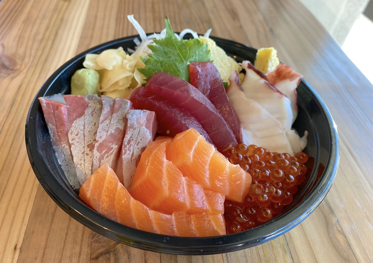 Paradise Poke Chirashi Bowl Mari Taketa