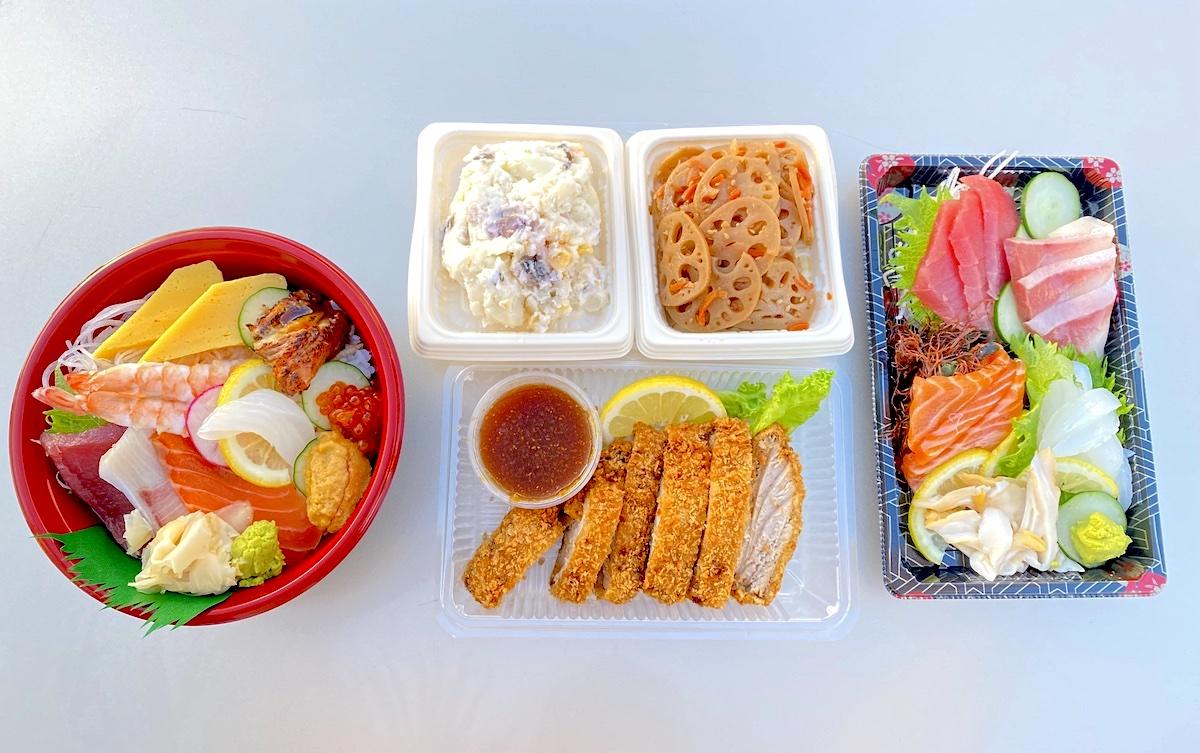 Fish And Rice Assortment Mari Taketa