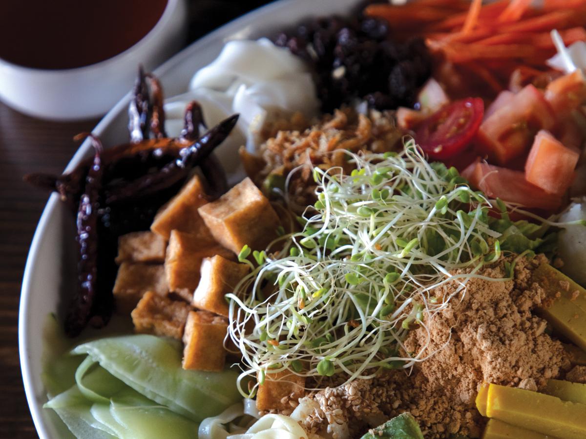 Dagon Rainbow Salad