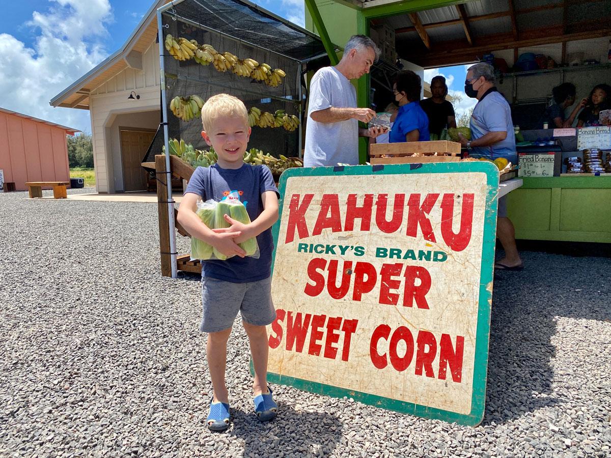 Hawaii Shrimp Boil Kahuku Corn Photo Laura Dornbush