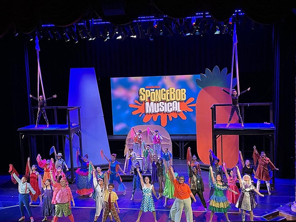 Spongebob The Musical Photo America Lopez Hawaii Public Radio