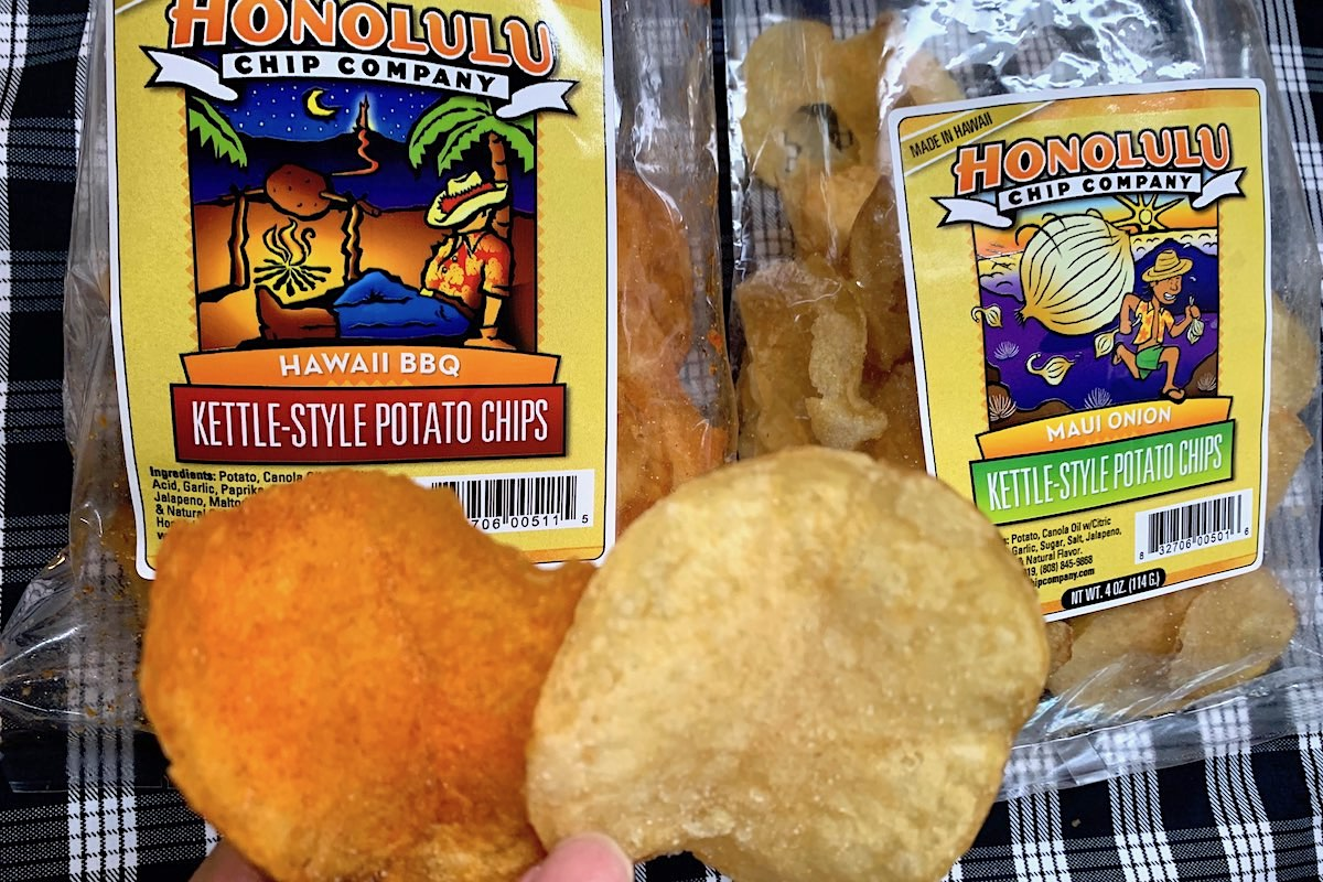 Best Potato Chip Oahu Honolulu Chip Lee Tonouchi