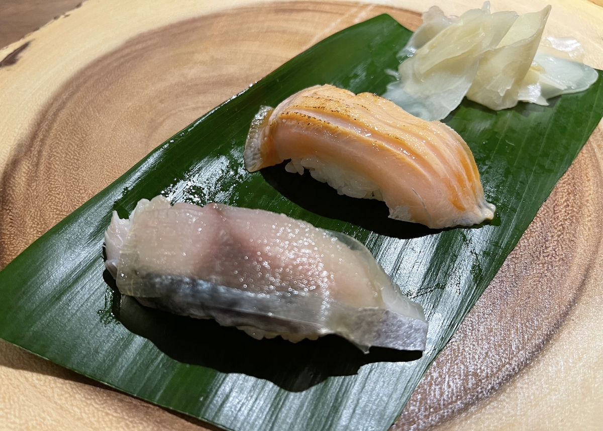Islander Sake Saba And Salmon Sushi Maria Burke