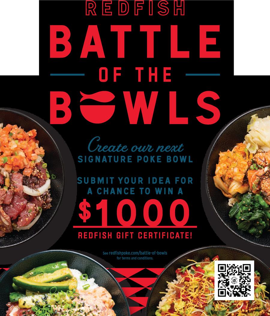 Redfish Poke Battle Of The Bowls Flyer