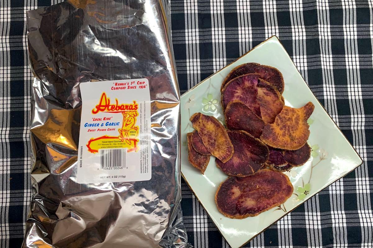 Best Potato Chips Hawaii Island Atebaras Lee Tonouchi