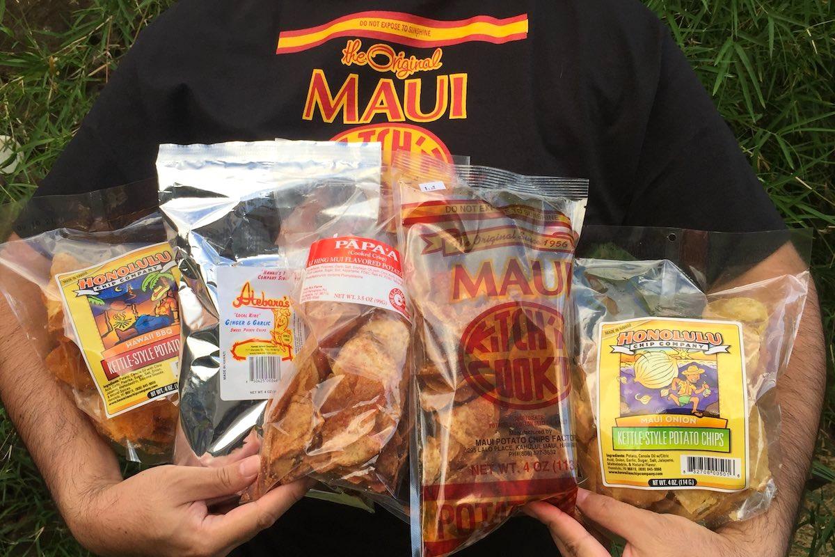 Best Potato Chips On Every Island Lee Tonouchi