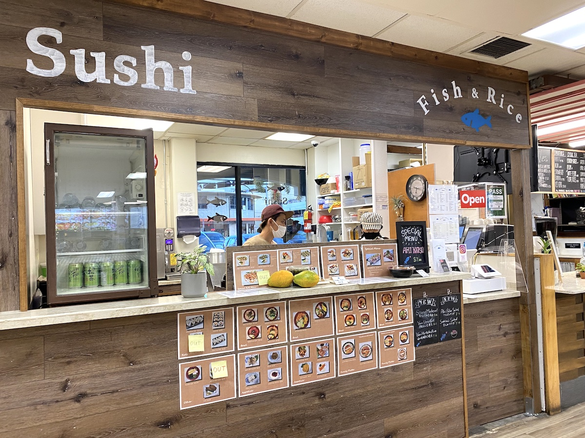 Fish And Rice Counter Mari Taketa