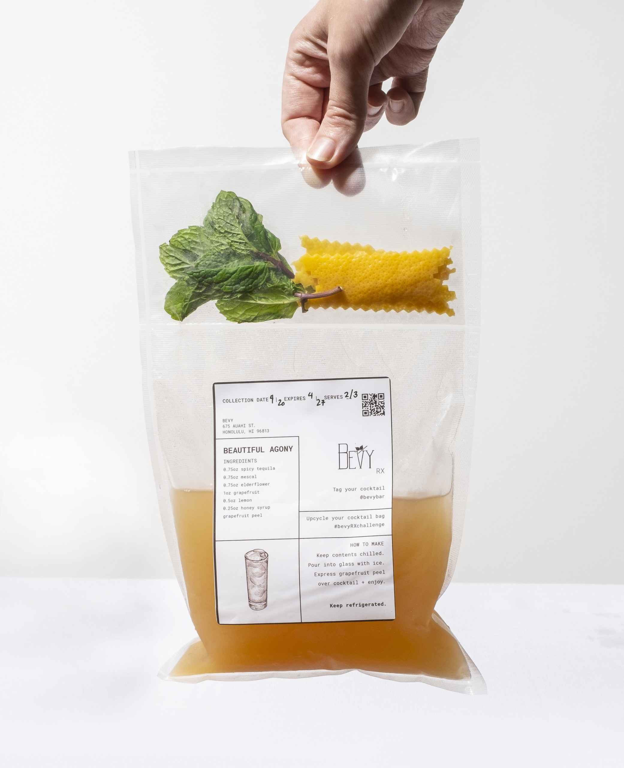 Bevy Takeout Cocktail