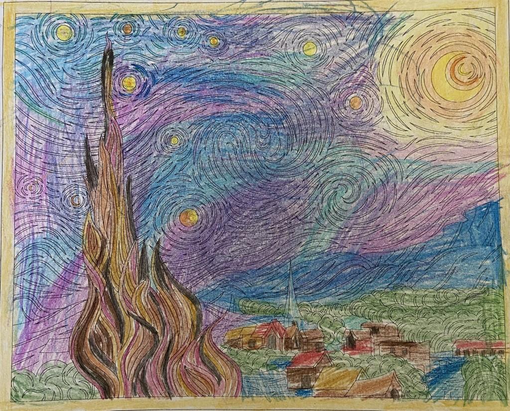Alivias Starry Night
