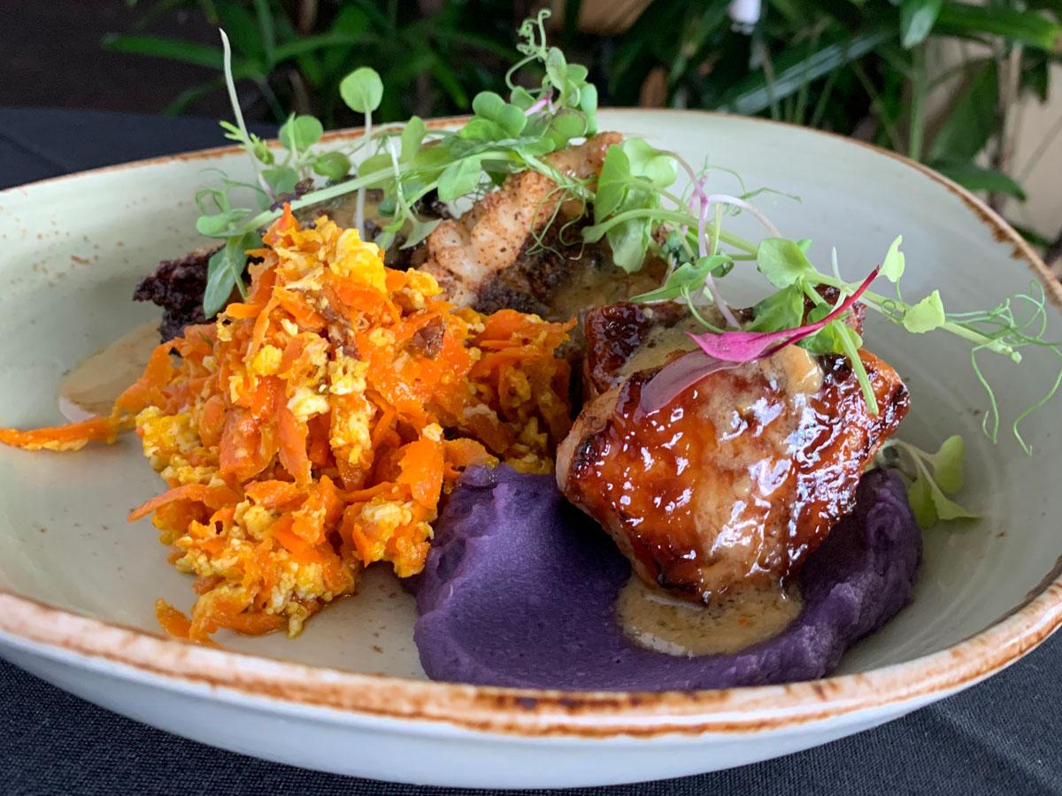 Roys Okinawan Feastival Miso Glazed Pork Photo Roys Hawaii