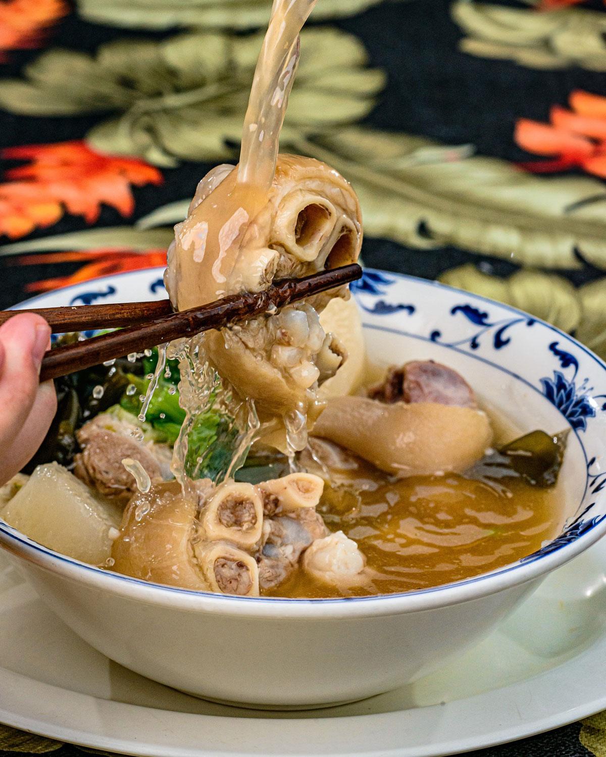 Sunrise Restaurant Pig Feet Soup Okinawan Festival Photo Reid Shimabukuro Okinawan Festival
