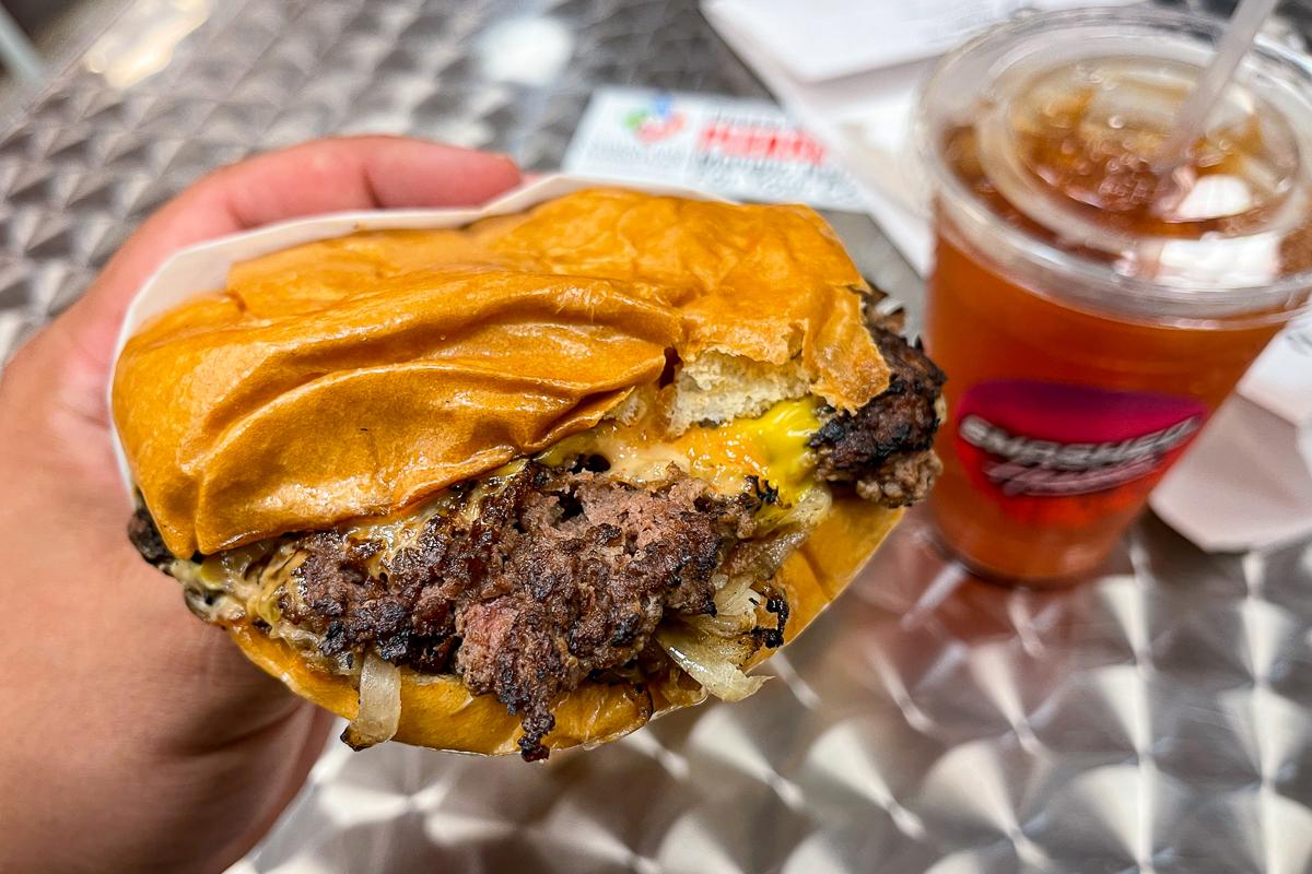 Smashed Hawaii Oklahoma Fried Onion Burger Credit Thomas Obungen 4