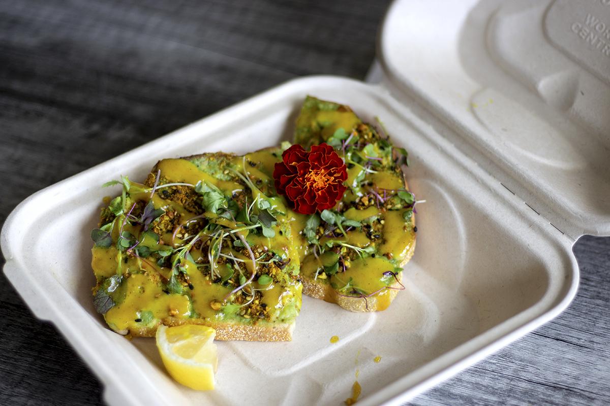 Olena Cafe Avocado Toast James Nakamura