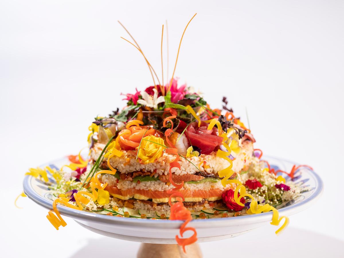 Tokkuri Tei Sushi Cake