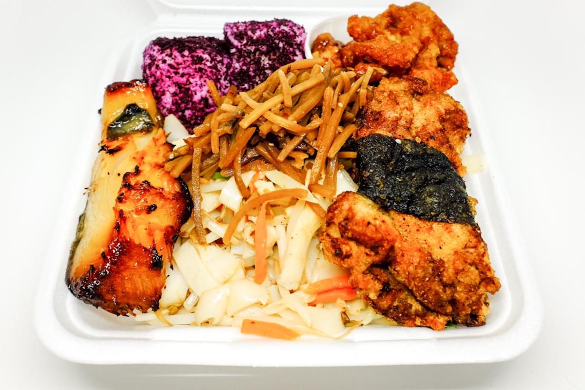 Fukuya Delicatessen Okazuya Plate Thomas Obungen