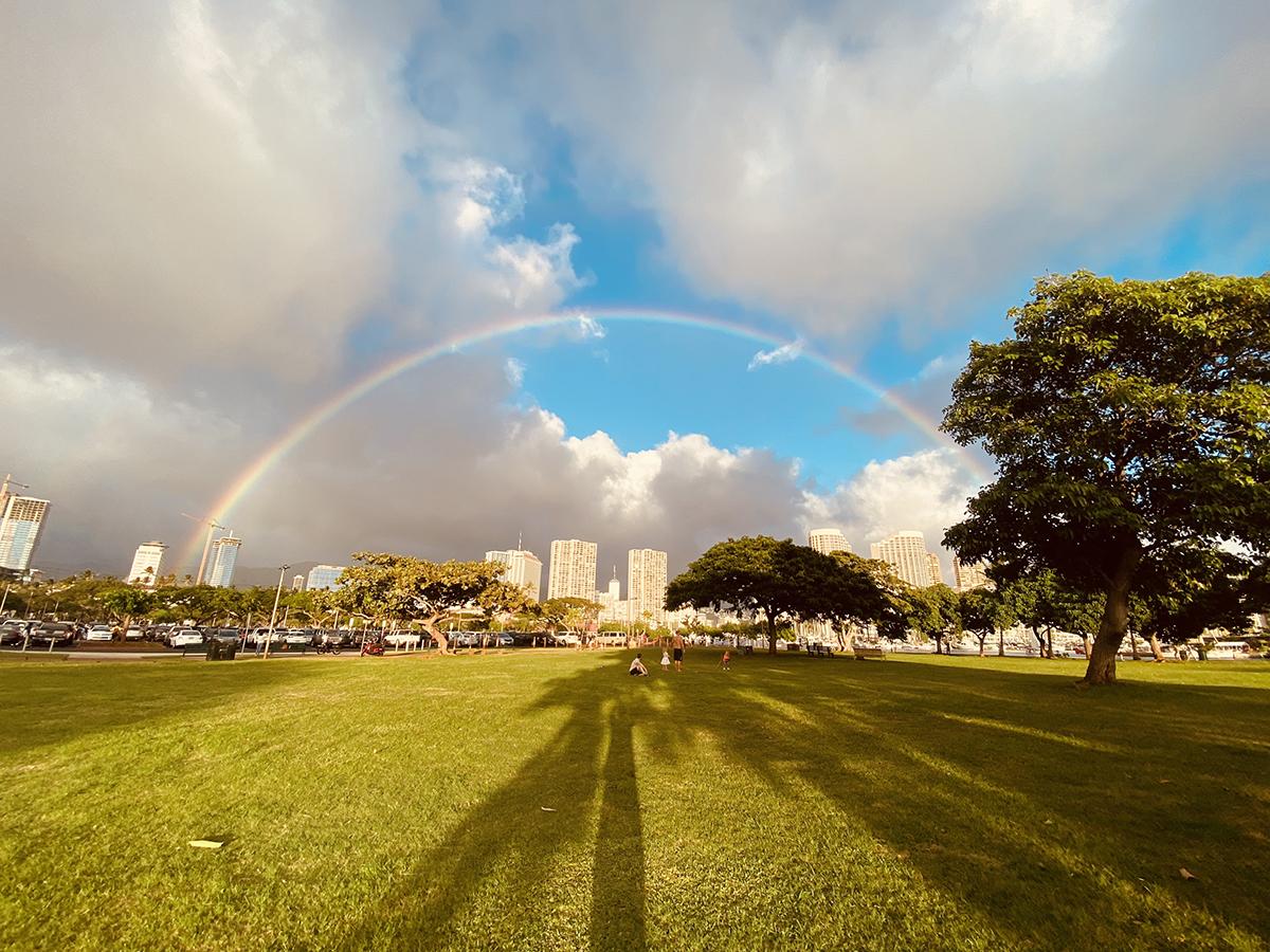 Magic Island Rainbow