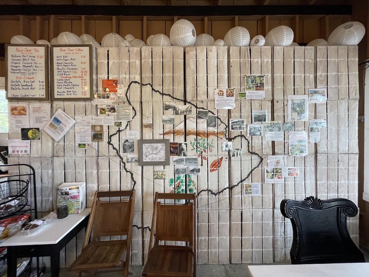 Koana Coffee Big Island Map Maria Burke