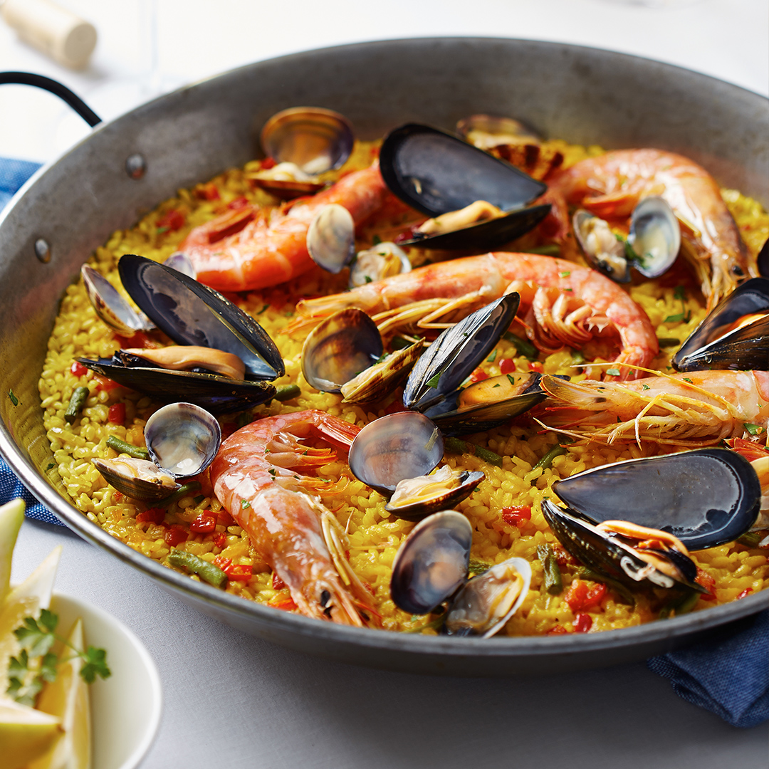 Its All Rice Mkt Seafood Paella