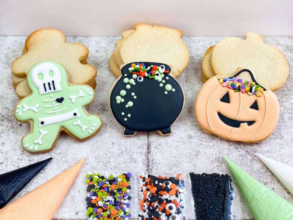 Halloween Cookie Kit 2021 Photo A Cake Life