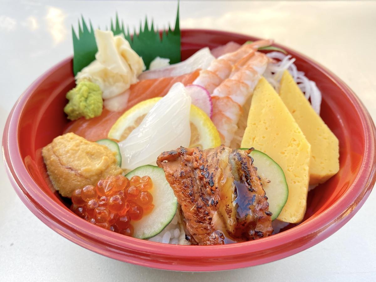 Fish And Rice Chirashi Mari Taketa
