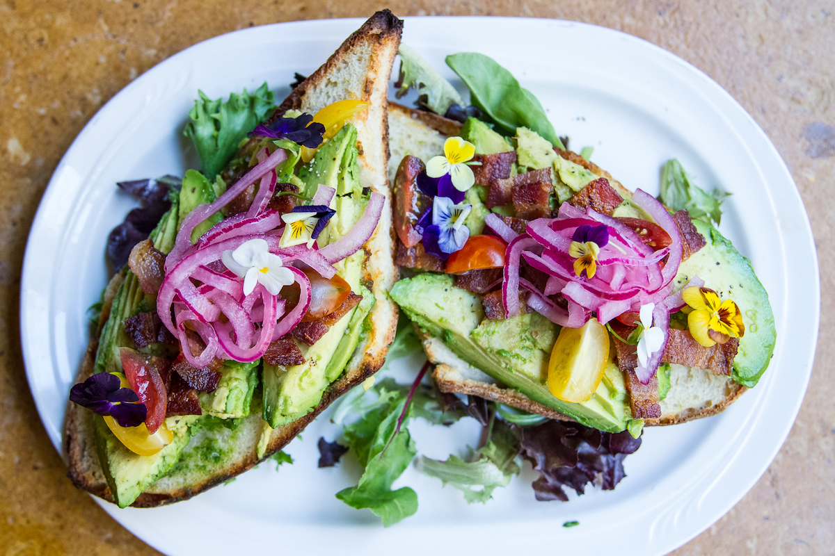 Proof Social Brunch Avo Toast Tracy Chan