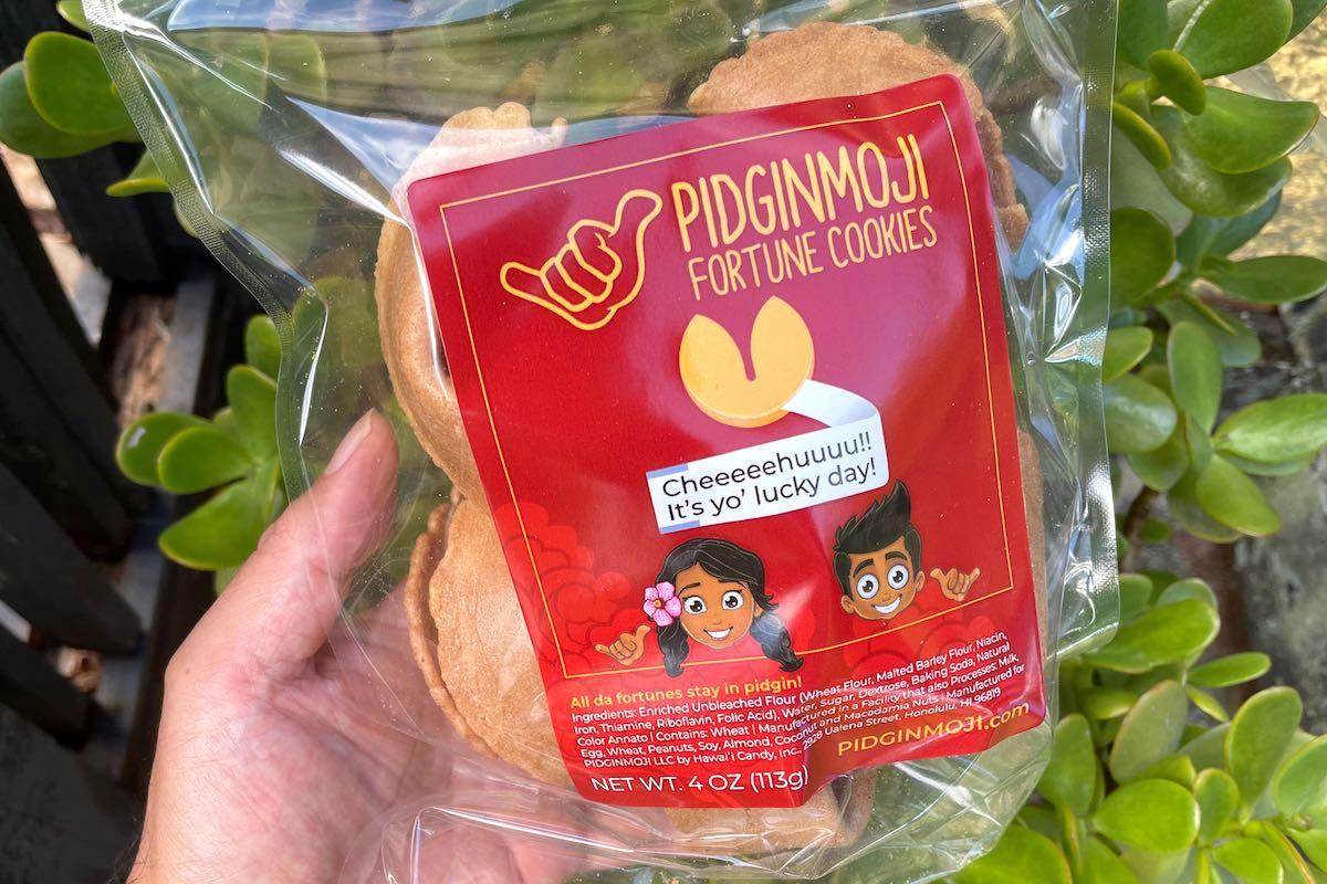 Pidginmoji Fortune Cookies Lee Tonouchi