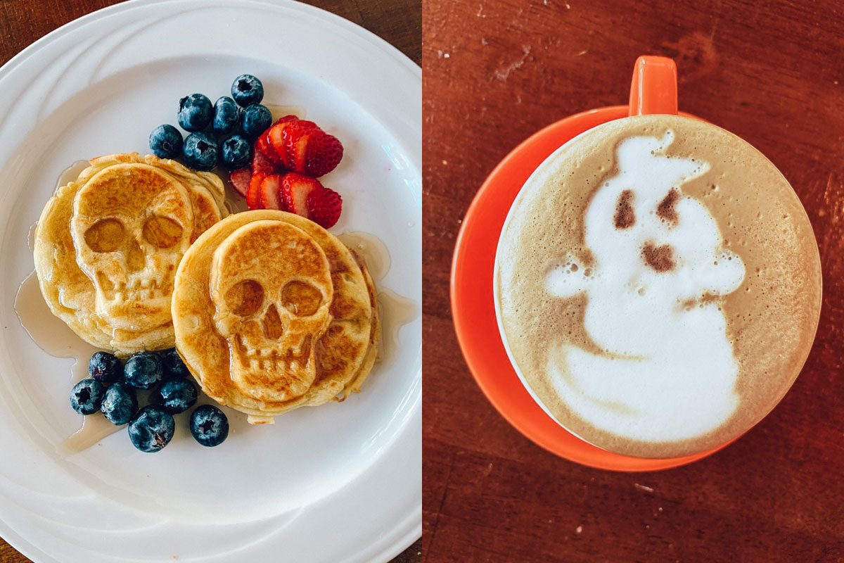 Waffles And Latte Photo Pineapple And Keiki