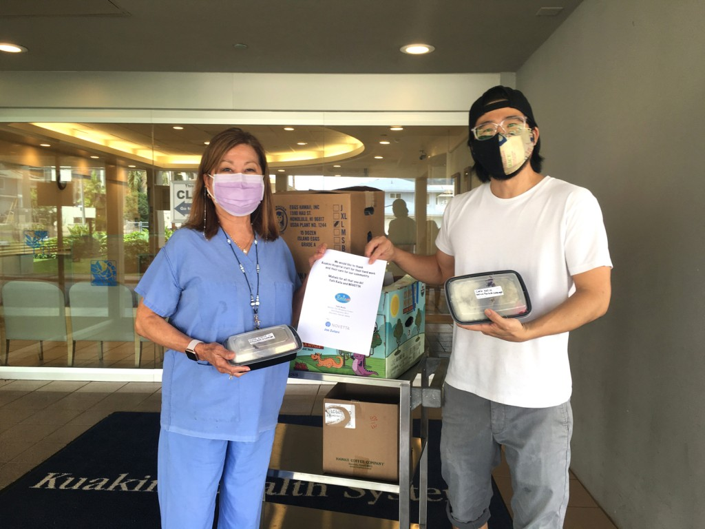 Cafe Kaila Donating Meals To Hospital