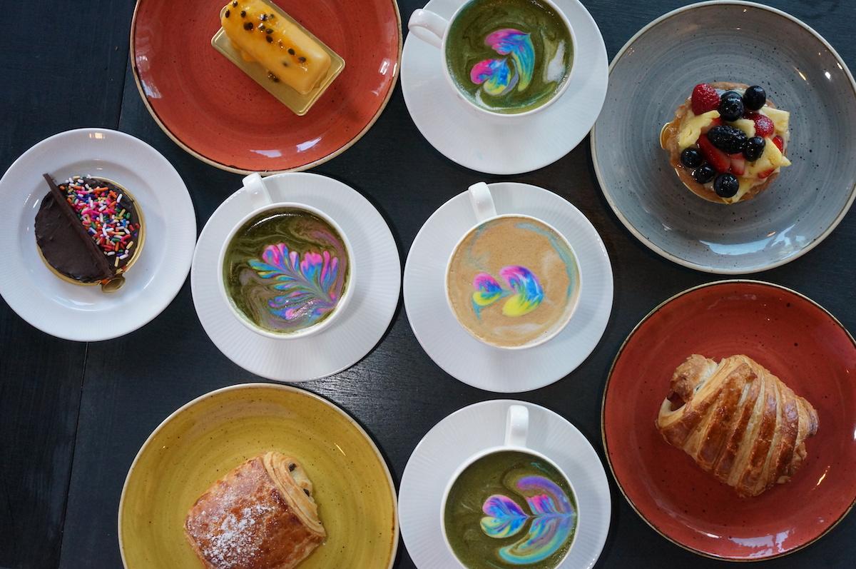 Café Kopi Rainbow Lattes And Pastries Pc Sean Morris