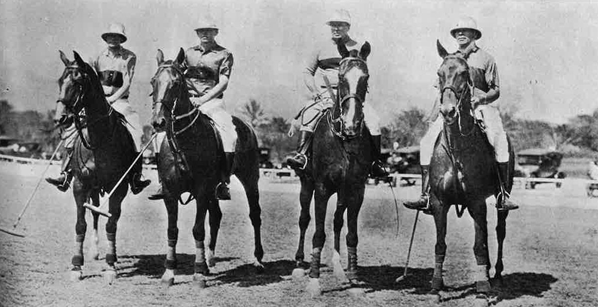 Polo Players 1921 Paradise Of Pacific