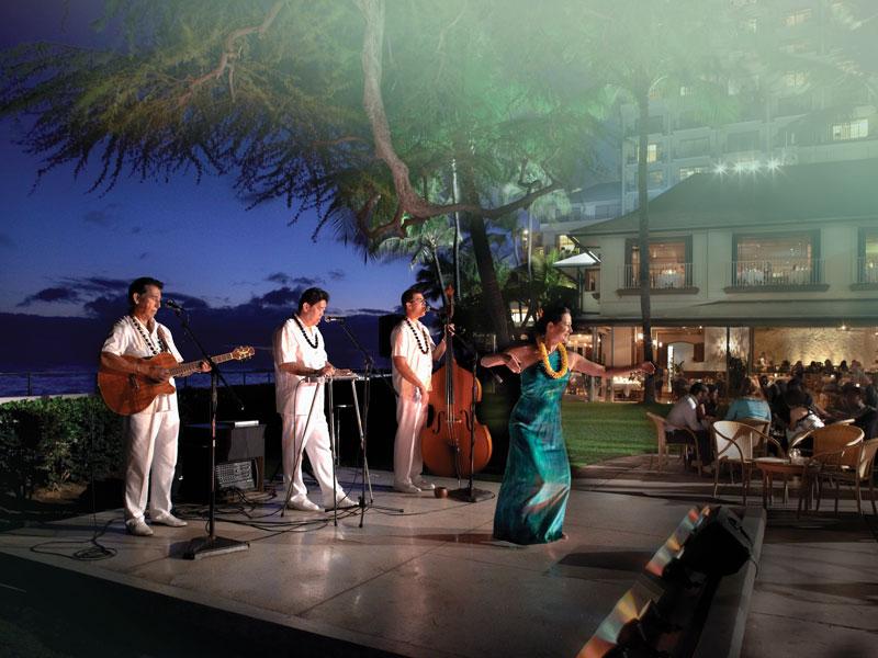 Our Waikiki Music Halekulani