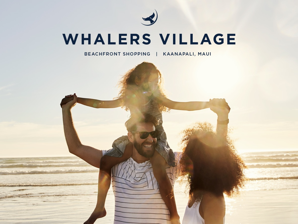 Whalers Village Beachfront Shopping Maui Covercopy