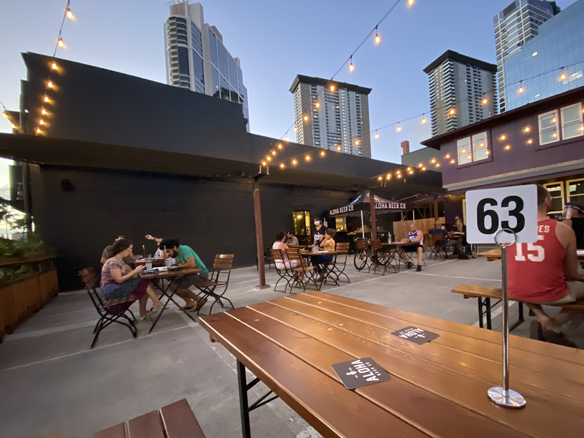 The Best Places To Eat Outside In Ward And Kakaako Right Now Aloha Beer Company