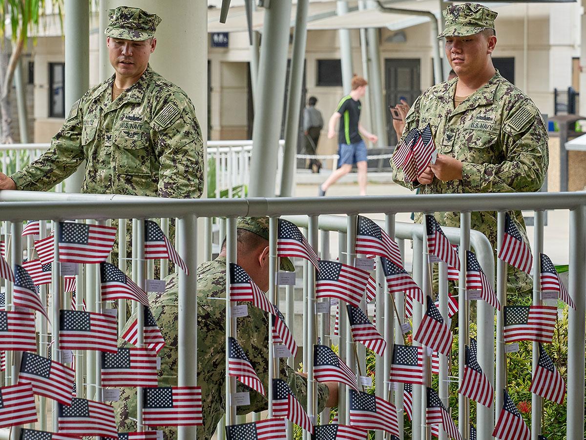 Memorial Day Pearl Harbor Flags 5