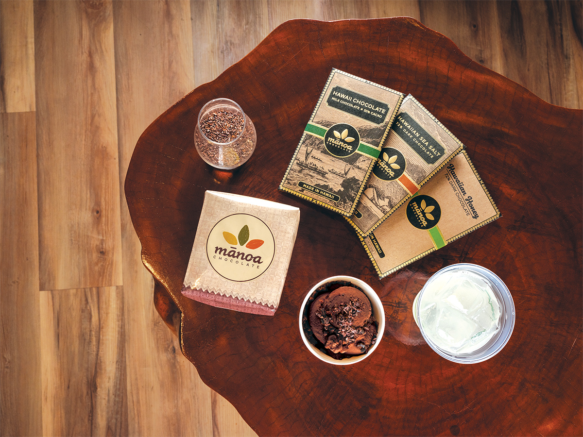 4 New Things You Can Buy At Manoa Chocolate
