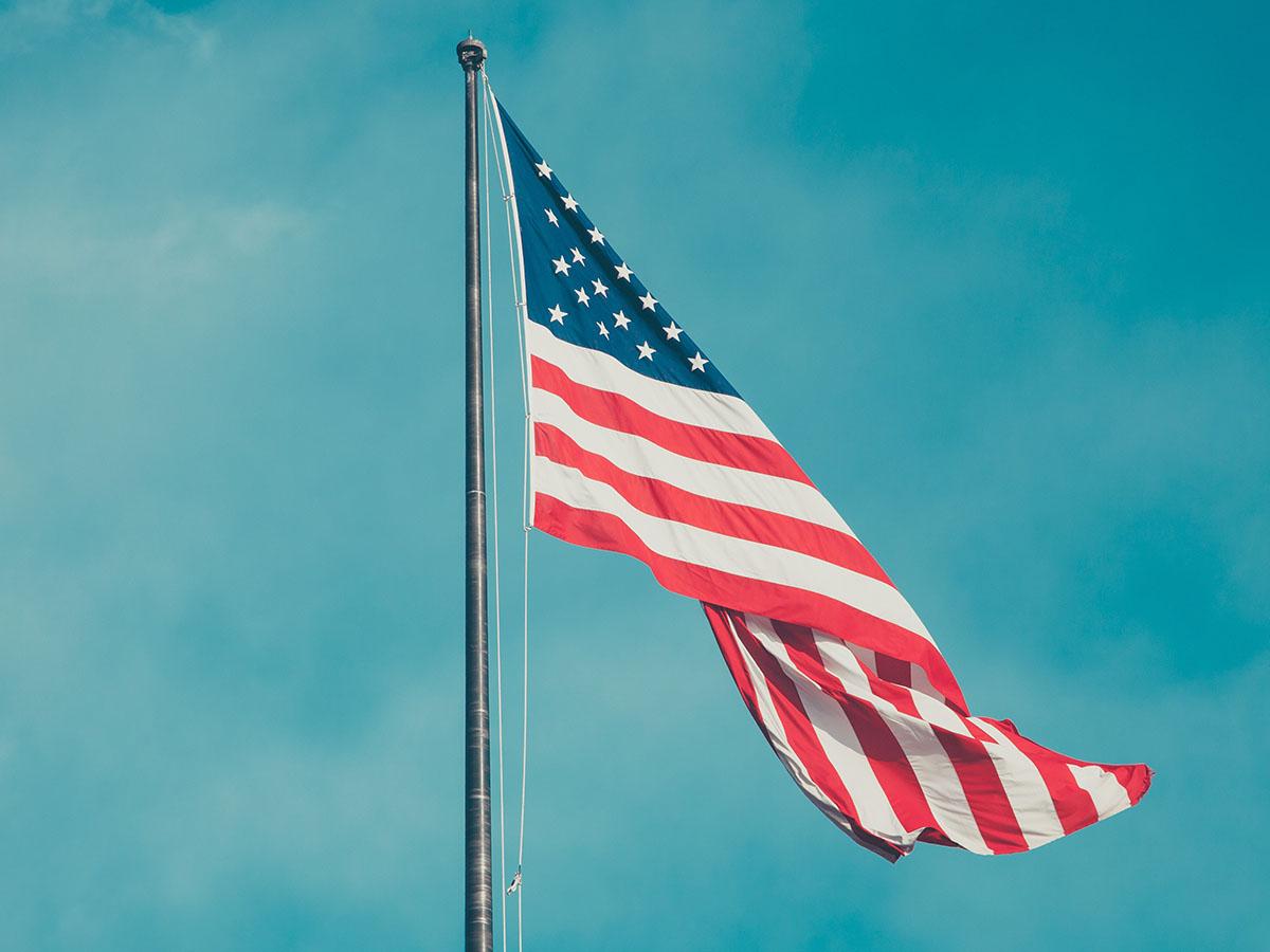Anthony Delanoix American Flag Unsplash