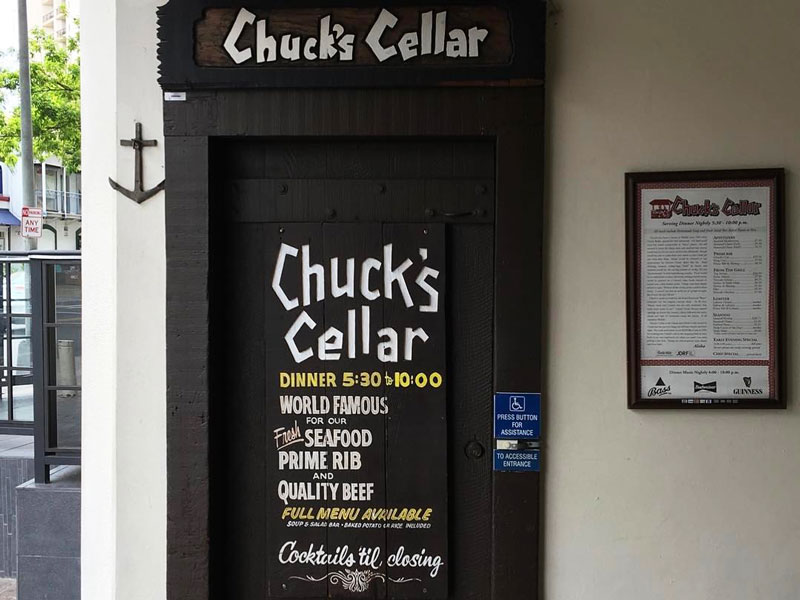 Our Waikiki Hold Outs Chucks Cellar